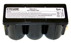 0809-0012 Enersys Monoblock Cyclon Battery-6V 5aH