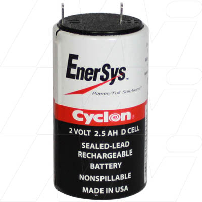 0810-0004 D Enersys Cyclon Battery 2V 2.5aH