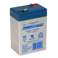 PS640 PowerSonic Battery 6V 4.5A