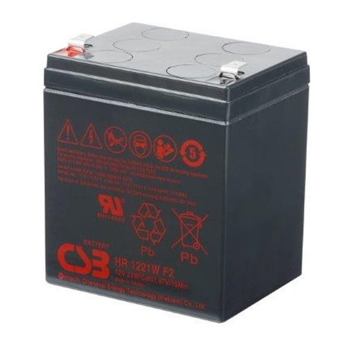 HR1221WF2 12V 5.1 Ah 21W CSB Battery