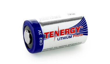30214 Tenergy Propel CR123A Lithium Battery with PTC Protected
