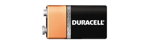 MN1604 9V DURACELL ALKALINE COPPERTOP BATTERY 12 pack