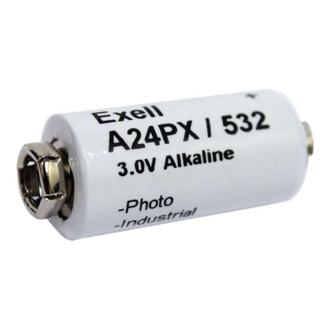 Exell A24PX 3V Alkaline Battery V24PX RPX24 532 PX24 EPX24 2LR50