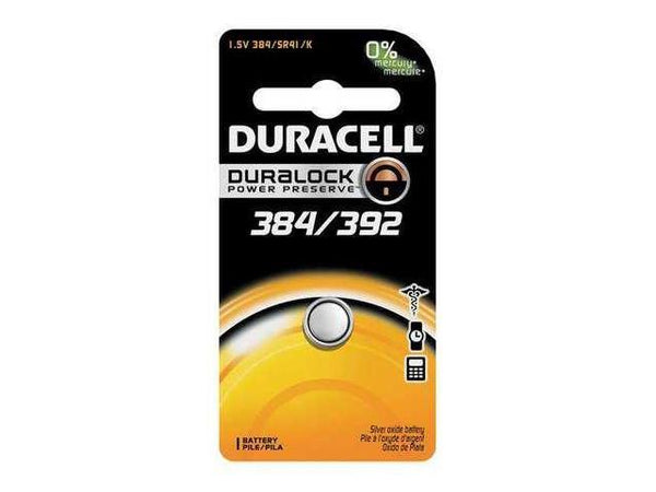 D384/392 SR41W 1.5V Duracell Watch Battery