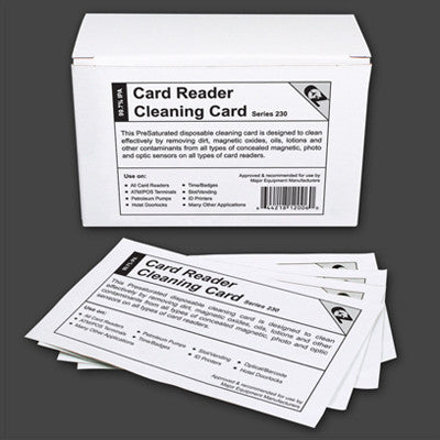 CLEANING CARD-BOX OF 50