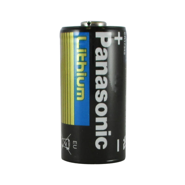 CR123A Panasonic Lithium Battery 3V 1550mAh