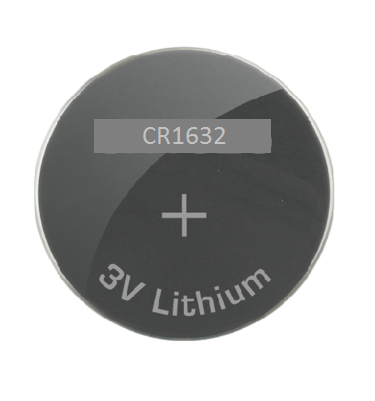 CR1632 3 Volt Lithium Coin Cell