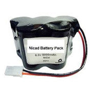 ELB0605N Lithonia Replacement Battery-6V NiCD