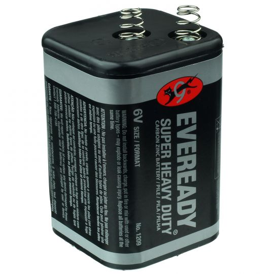 Eveready EVR1209 6V 12 pack