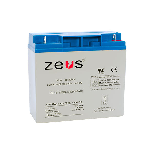 PC18-12NB Zeus Sealed Rechargable Battery