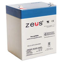 PC5-12F2 Zeus Sealed Rechargable Battery