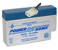PS-1208 - POWERSONIC 12V 0.8AH SLA BATTERY