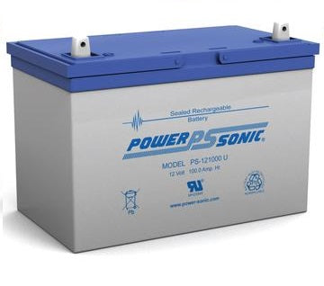 PS-121000 - POWERSONIC 12V 100AH SLA BATTERY