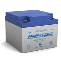 PS-12260F2 - POWERSONIC 12V 26AH SLA BATTERY
