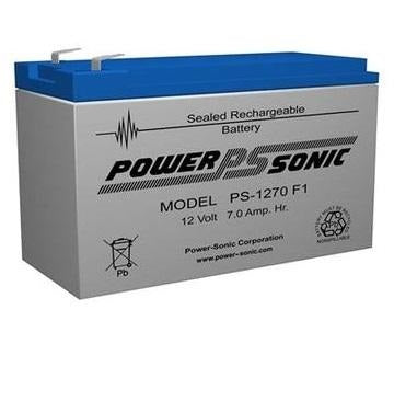 PS-1270F1 - POWERSONIC 12V 7AH SLA BATTERY