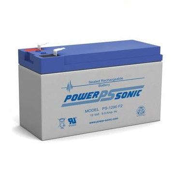 PS-1290 - POWERSONIC 12V 9AH SLA BATTERY