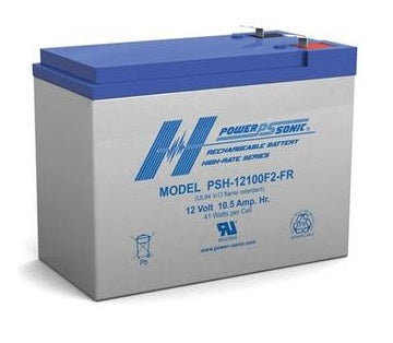PSH-12100FR - POWERSONIC 12V 10.5AH SLA BATTERY