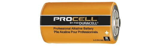 PC1300 D DURACELL PROCELL ALKALINE BATTERY 12 pack