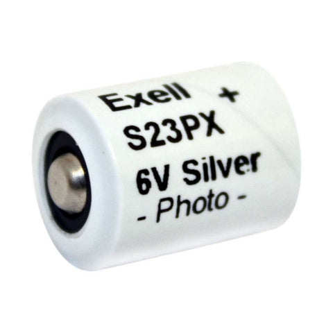Exell S23PX 6V Silver Oxide Battery 4NR42 EPX23 V23PX 4LR42 PX23