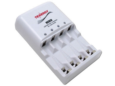 TN138 Tenergy Smart 4-Bay AA/AAA NiMH LED Battery Charger
