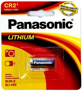 CR-2 Panasonic Lithium Battery