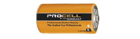 PC1400 C DURACELL PROCELL ALKALINE BATTERY 12 pack