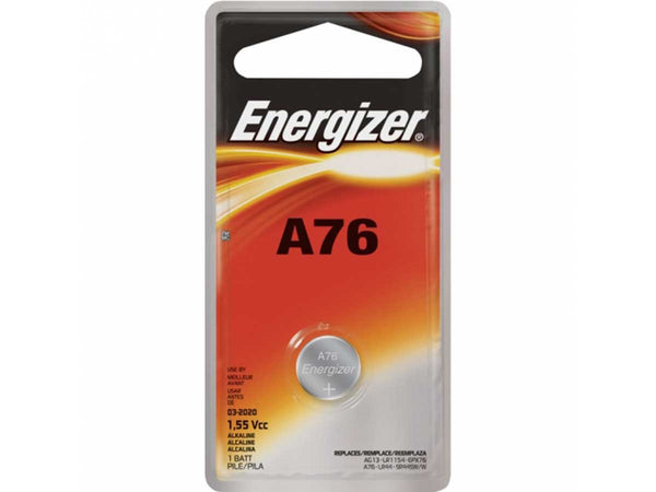 A76 AG13 LR44 1.5V Energizer Watch Battery
