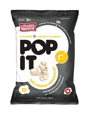Pop It- White Cheddar Popcorn