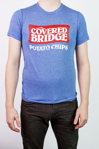 Men's Covered Bridge Tee - Blue