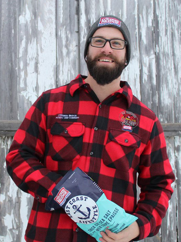 Covered Bridge Plaid Fleece