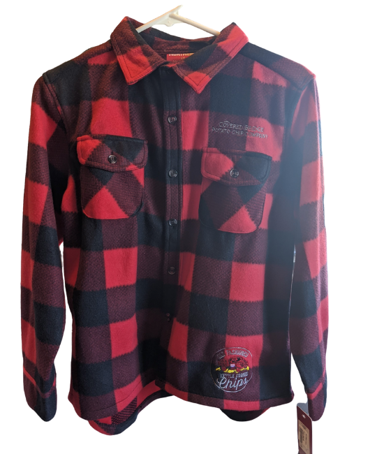 Fleece Plaid Button Up