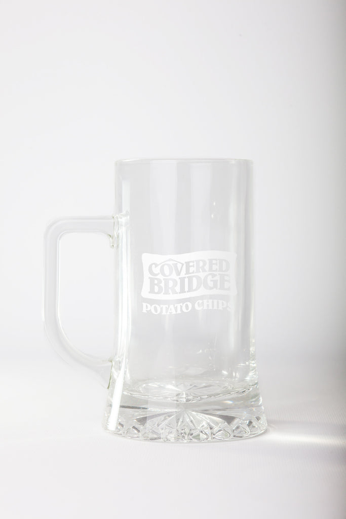 Glass Mug - White