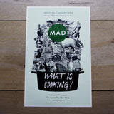 "MAD4 <br>""What is Cooking?"" Print<br>"