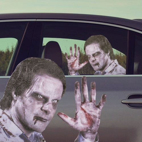 Ride With a Zombie Window Sticker