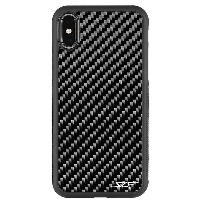 Apple iPhone X & XS Real Carbon Fibre Phone Case Classic Series