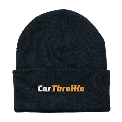 Car Throttle Logo Beanie Hat