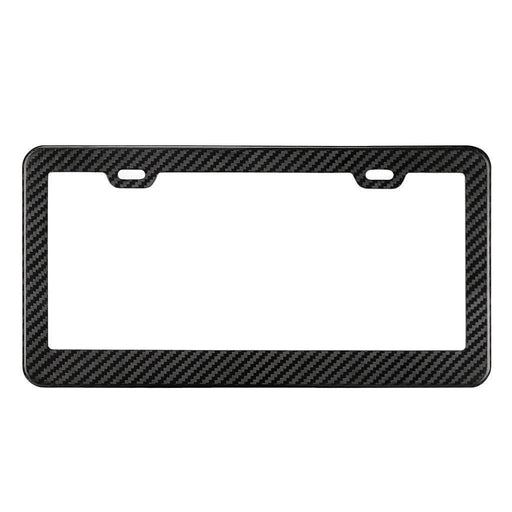 Real Carbon Fibre License Plate Frame
