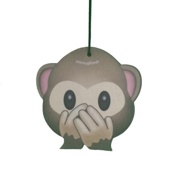 Monkey Emoji Air Freshener