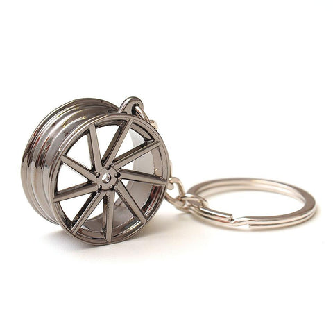 DUB Wheel Keychain