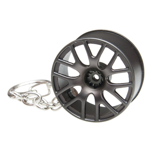 Multi Spoke Wheel Keychain
