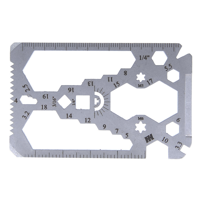 34 in 1 Credit Card Multi-Tool