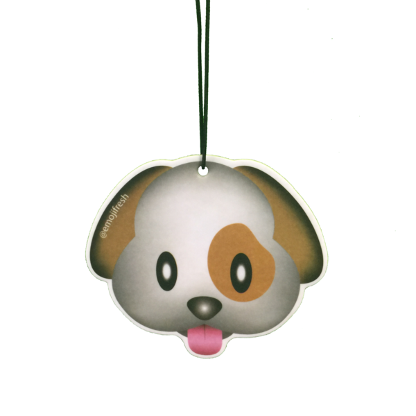 Dog Emoji Air Freshener
