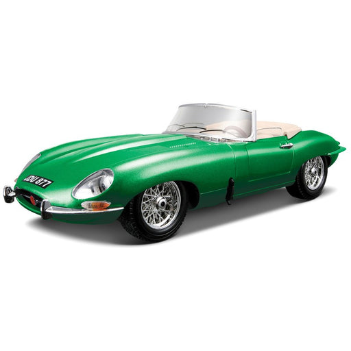 Bburago 1:18 1961 Jaguar E-type Cabriolet Die Cast Model
