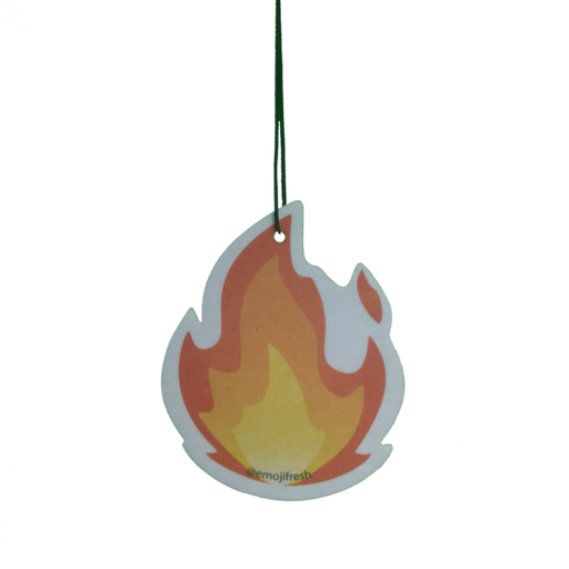 Fire Emoji Air Freshener