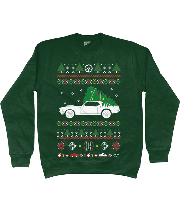 Ford Mustang Christmas Jumper