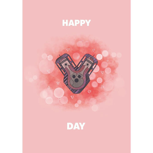 Happy V-Day Greetings Card