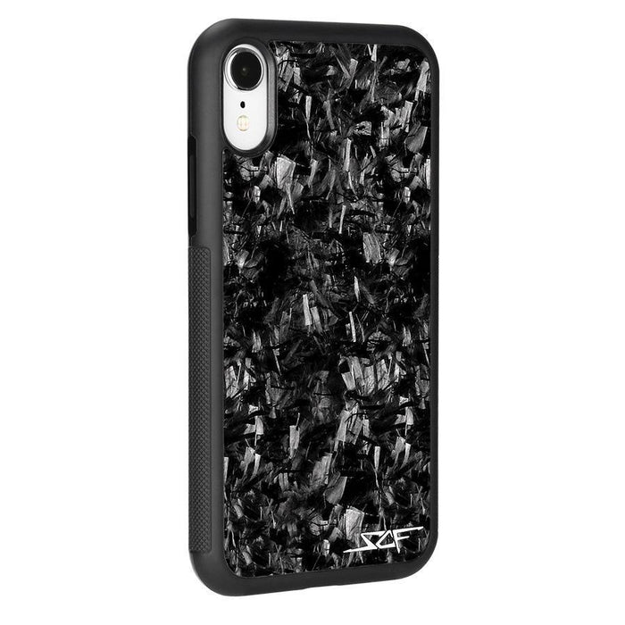 Apple iPhone XR Real Forged Carbon Fibre Phone Case Classic Series