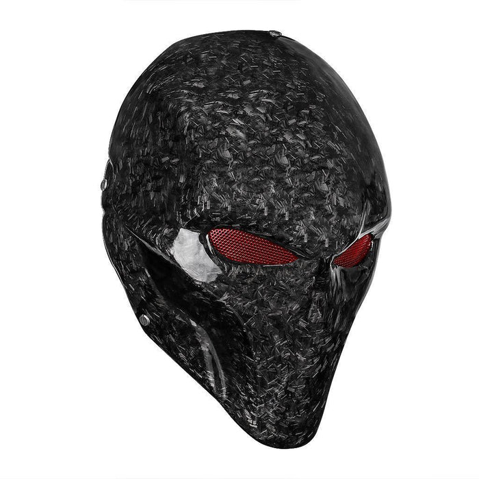 Supervillain Forged Carbon Fibre Mask (Limited Edition)