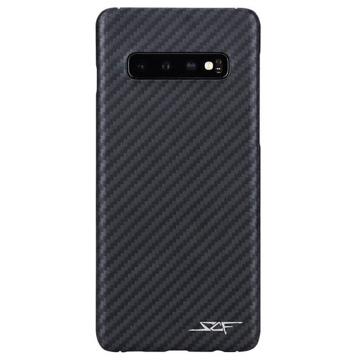 Samsung Galaxy S10 Carbon Fibre Phone Case Ghost Series