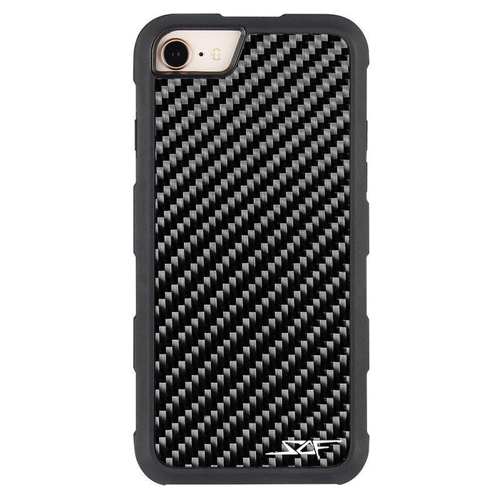 Apple iPhone 6/7/8 Real Carbon Fibre Phone Case Armor Series